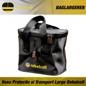 Husa Protectie si Transport pentru acumulatori Li-Ion Large Rebelcell - BAGLARGEREB