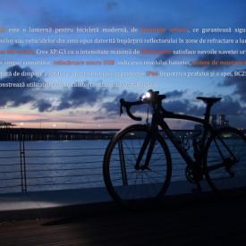 Lanterna bicicleta de ghidon Fenix BC25R Reincarcabila 600 Lumeni 106 Metri 3