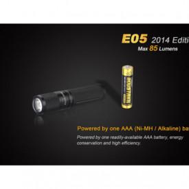 Lanterna Fenix E05 85 lumeni baterie
