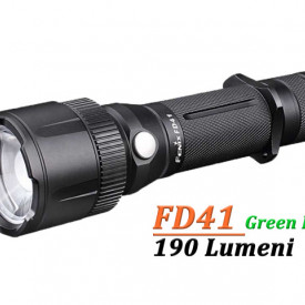 Lanterna Fenix FD41 - LED Verde - 190 lumeni 183 metri