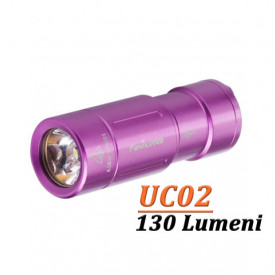 Lanterna Fenix Fenix UC02 130 lumeni 48 metri violet