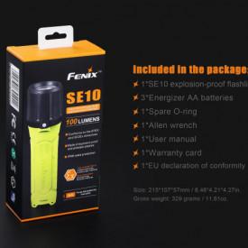 Lanterna Fenix SE10 - Lanterna ATEX - 100 lumeni 160 metri 8