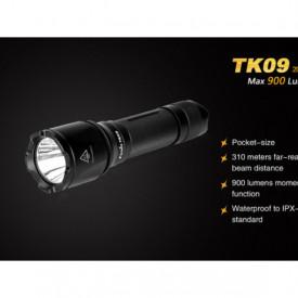 Lanterna Fenix TK09 - Editie 2016 - 900 lumeni 310 metri caracteristici