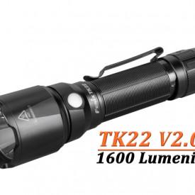 Lanterna Fenix TK22 V2.0 1600 Lumeni 405 Metri