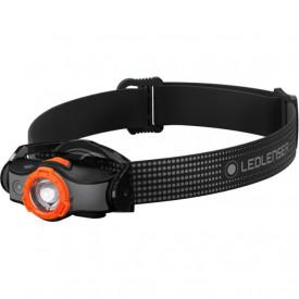Lanterna frontala Led Lenser MH5 BLACK/Orange 400LM/Acumulator