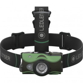Lanterna frontala Led Lenser MH8 Verde 400LM/Acumulator - A8.Z500951