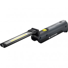 Lanterna Led Lenser IW5R FLEX BLACK 600LM/1XLI-ION+USB