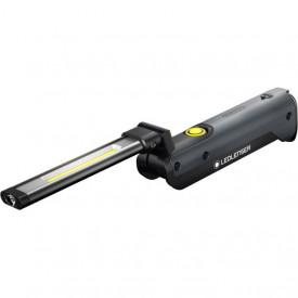 Lanterna Led Lenser IW5R FLEX BLACK 600LM/1XLI-ION+USB
