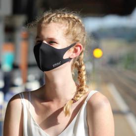 Masca textila reutilizabila cu tratament antiviral Black L 2