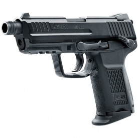 Pistol Airsoft gaz Hekler & Koch HK45CT 6MM 20BB 1J - VU.2.6335