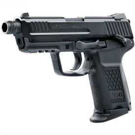 Pistol Airsoft gaz Hekler & Koch HK45CT 6MM 20BB 1J - VU.2.6335