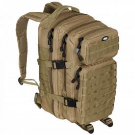 Rucsac modular Assault, 30 litri, multiple buzunare, compatibil sistem hidratare, coyote tan MFH- OUTMA.30333R