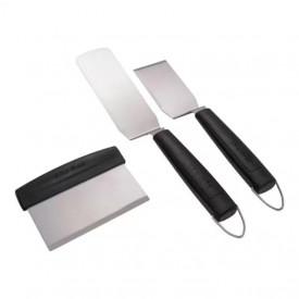 Set 3 spatule pentru gratar si plancha Char-Broil - 140022
