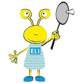 Set 6 fluturasi badminton ELI Talbot-Torro - 469382
