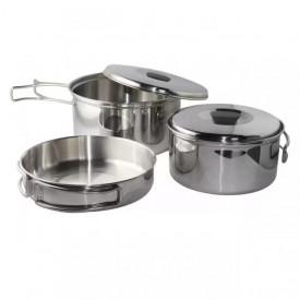 Set vase camping otel inoxidabil Enders Culina, 6 piese - 6832