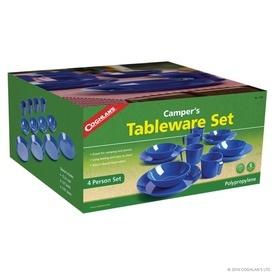 Set vesela din plastic pentru camping Coghlans