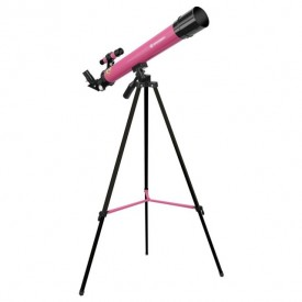 Telescop refractor Bresser Junior 45/600 AZ roz - 8850600W9H000
