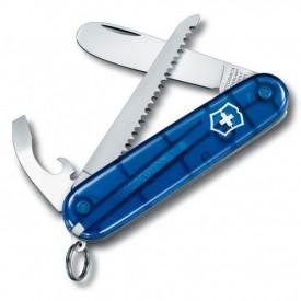 Briceag Victorinox My first Victorinox H, albastru transparent - 0.2373.T2
