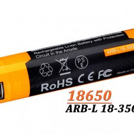 Acumulator Fenix 18650 - 3500mAh cu Micro USB - ARB-L 18-3500U