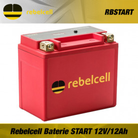 Acumulator Rebelcell LiFePO4 Baterie Li Ion 12V/12Ah - RBSTART