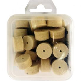 Ballistol Cutie pelete lana pentru curatat teava CAL 16 30BUC 2