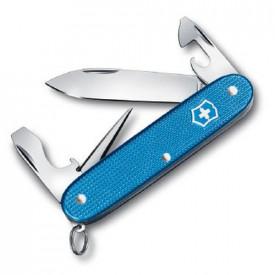 Briceag Victorinox Pioneer Alox, Aqua Blue - 0.8201.L20 - Limited Edition 2020