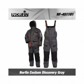 Costum Iarna Norfin Discovery Gray - 2 Piese