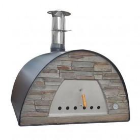 Cuptor traditional pentru pizza pe lemne Maximus Arena negru - MAXIMUSBLACKARENA