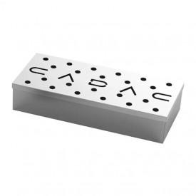 Cutie de afumare din inox pentru gratar 23x9x4 cm Cadac - 98312V