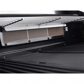 Gratar Grand Hall Maxim GTI4B-V pe gaz cu 5 arzatoare (4 inox + 1 infrarosu), incastrabil, gratare din fonta -  K04000199A arzator