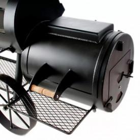 """Gratar pe carbuni cu afumatoare JOE's Barbeque Smoker 16"""" Longhorn - JS-33950 2"""