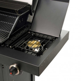 Gratar pe gaz din inox Char-Broil Professional 3500 Black Edition TRU-Infrared - 140899  arzator suplimentar