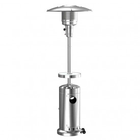 Incalzitor de terasa din inox comercial Brolly High End 13 Kw masa cu LED Activa 13950