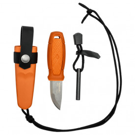 Kit cutit Morakniv de gat cu amnar Eldris, portocaliu lama 5.9cm - 13502