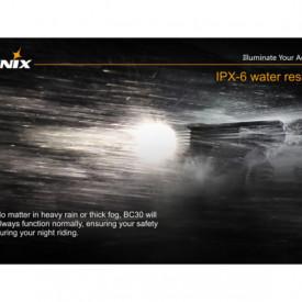 Lanterna bicicleta de ghidon Fenix BC30 Reincarcabila 1800 Lumeni 170 Metri 6