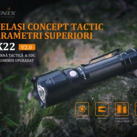 Lanterna Fenix TK22 V2.0 1600 Lumeni 405 Metri 2