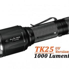 Lanterna Fenix TK25 - Versiune UV - 1000 lumeni 225 metri