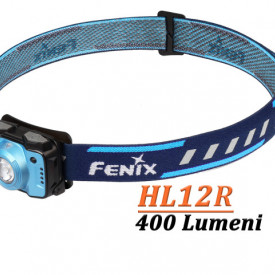 Lanterna frontala Fenix HL12R Reincarcabila 400 lumeni 64 metri