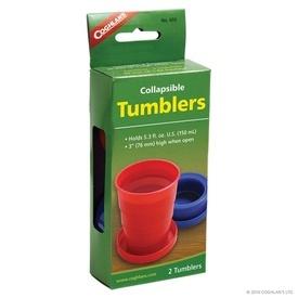 Set 2 pahare pliabile din plastic Coghlans