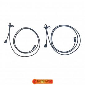 Set cordeline elastice de tensionare Bushmen Orange - 5902194521420