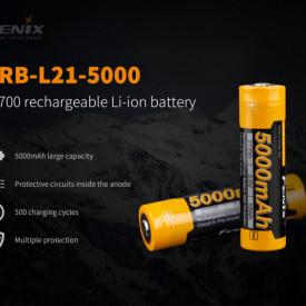 Acumulator Fenix 21700 - 5000mAh - ARB-L 21-5000 5