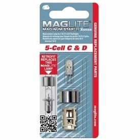 Bec Xenon lanterne Maglite 5 baterii
