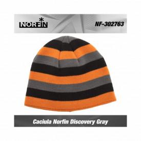 Caciula reversibila Norfin Discovery Grey
