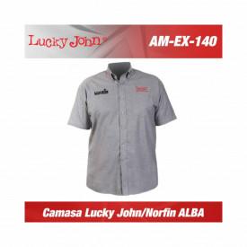 Camasa Lucky John/Norfin Gri