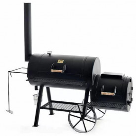"Gratar pe carbuni cu afumatoare JOE's Barbeque Smoker 20"" Texas Classic JS-33753"