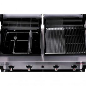 Gratar pe gaz din inox Ghar-Broil Double Header Professional 4600S - 140754 5