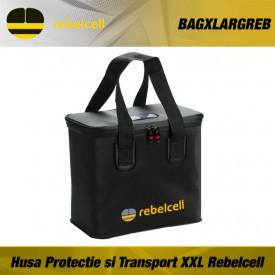 Husa Protectie si Transport pentru acumulatori Li-Ion XXL Rebelcell - BAGXLARGREB
