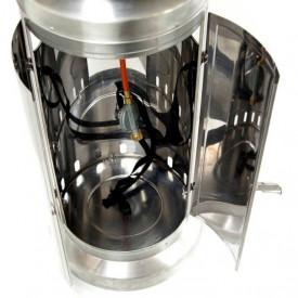 Incalzitor de terasa din inox comercial Brolly High End 13 Kw masa cu LED Activa 13950 2