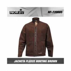 Jacheta reversibila Norfin Fleece Hunting Thunder Passion Brown