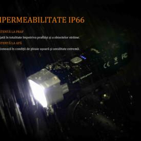 Lanterna bicicleta de ghidon Fenix BC25R Reincarcabila 600 Lumeni 106 Metri 6